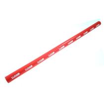 Szilikon összekötő, egyenes TurboWorks Piros 12mm 100cm